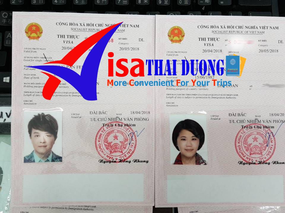 thị thực visa