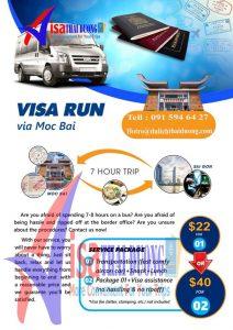 Visa Run Mộc Bài