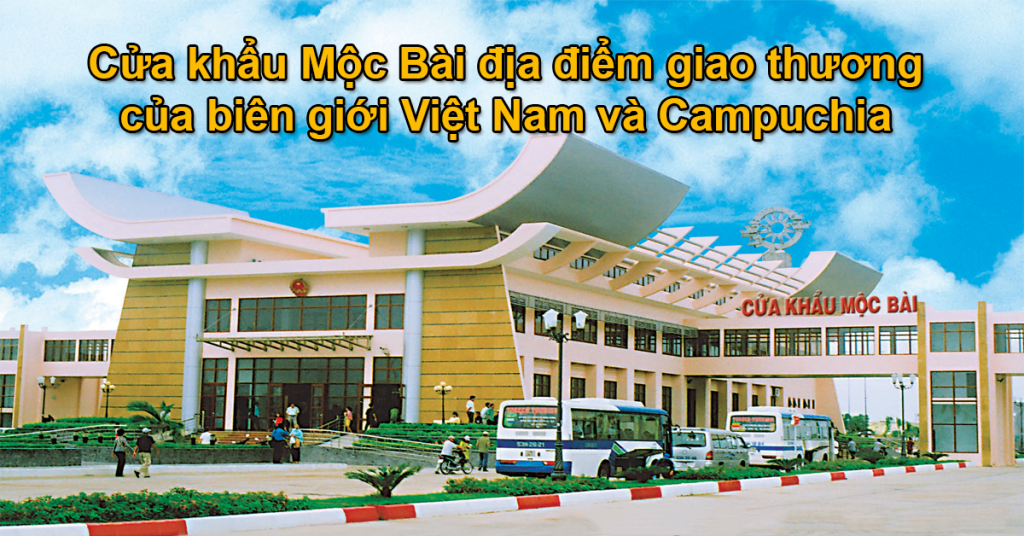 Hướng dẫn quy trình đóng mộc visa tại cửa khẩu Mộc Bài