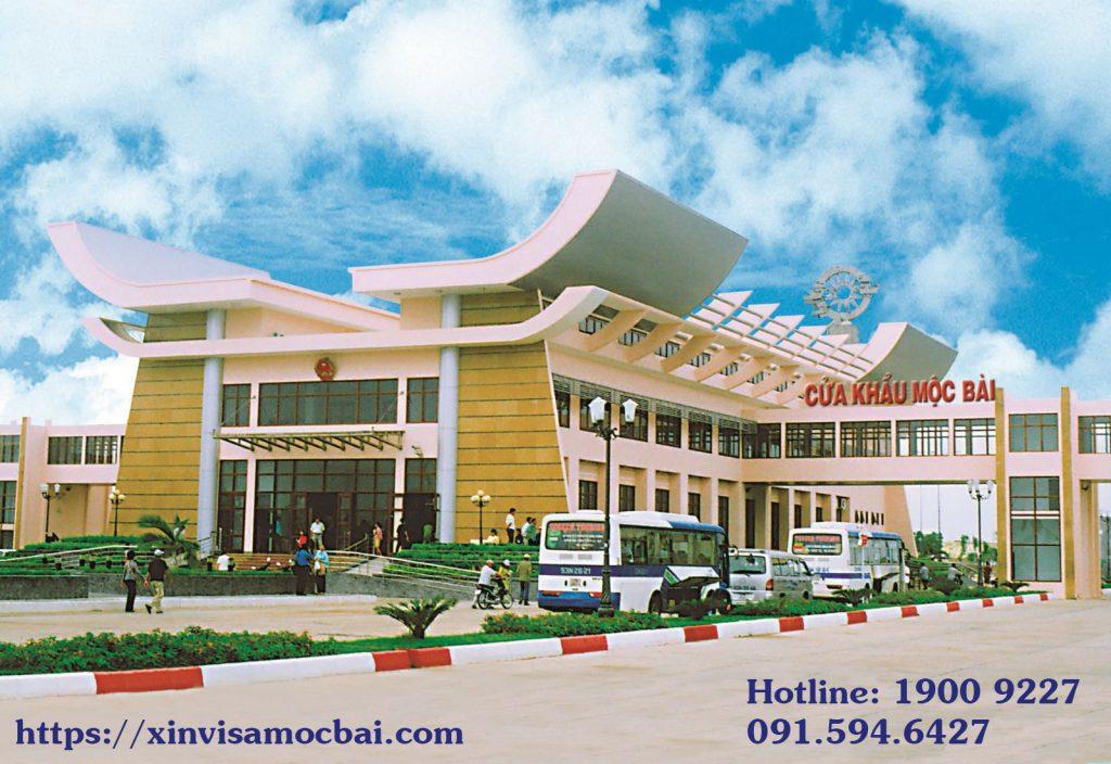 Dán Visa tại cửa khẩu Mộc Bài