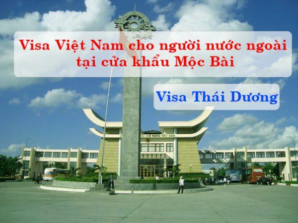 Visa Việt Nam tại cửa khẩu Mộc Bài